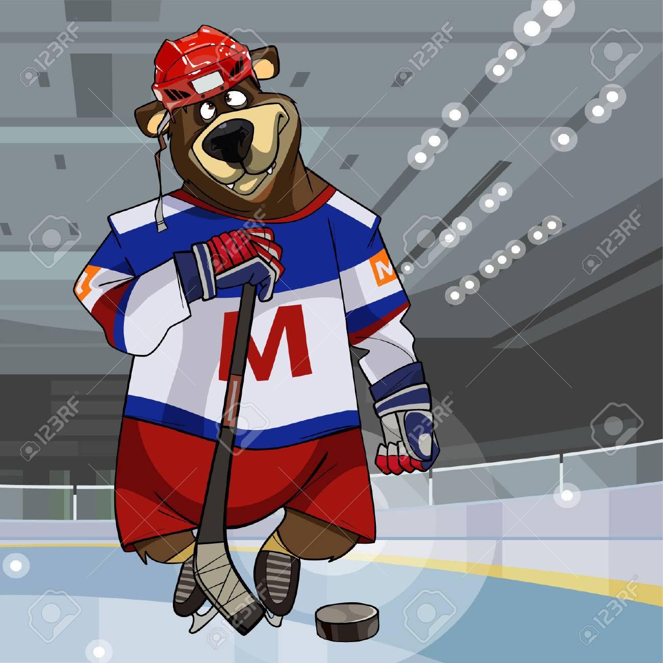 Vettoriale l orso del personaggio dei cartoni animati si è