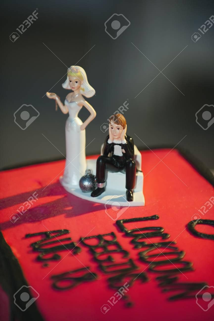Gateau de mariage usa