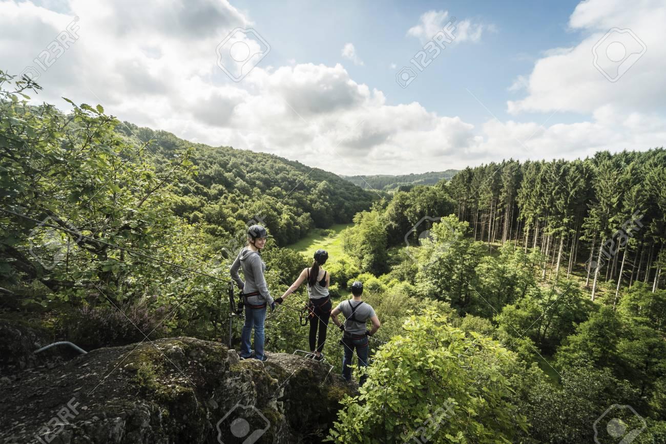 Klettersteig Deutschland : Sonnenköpfe und hindelanger klettersteig foto bild