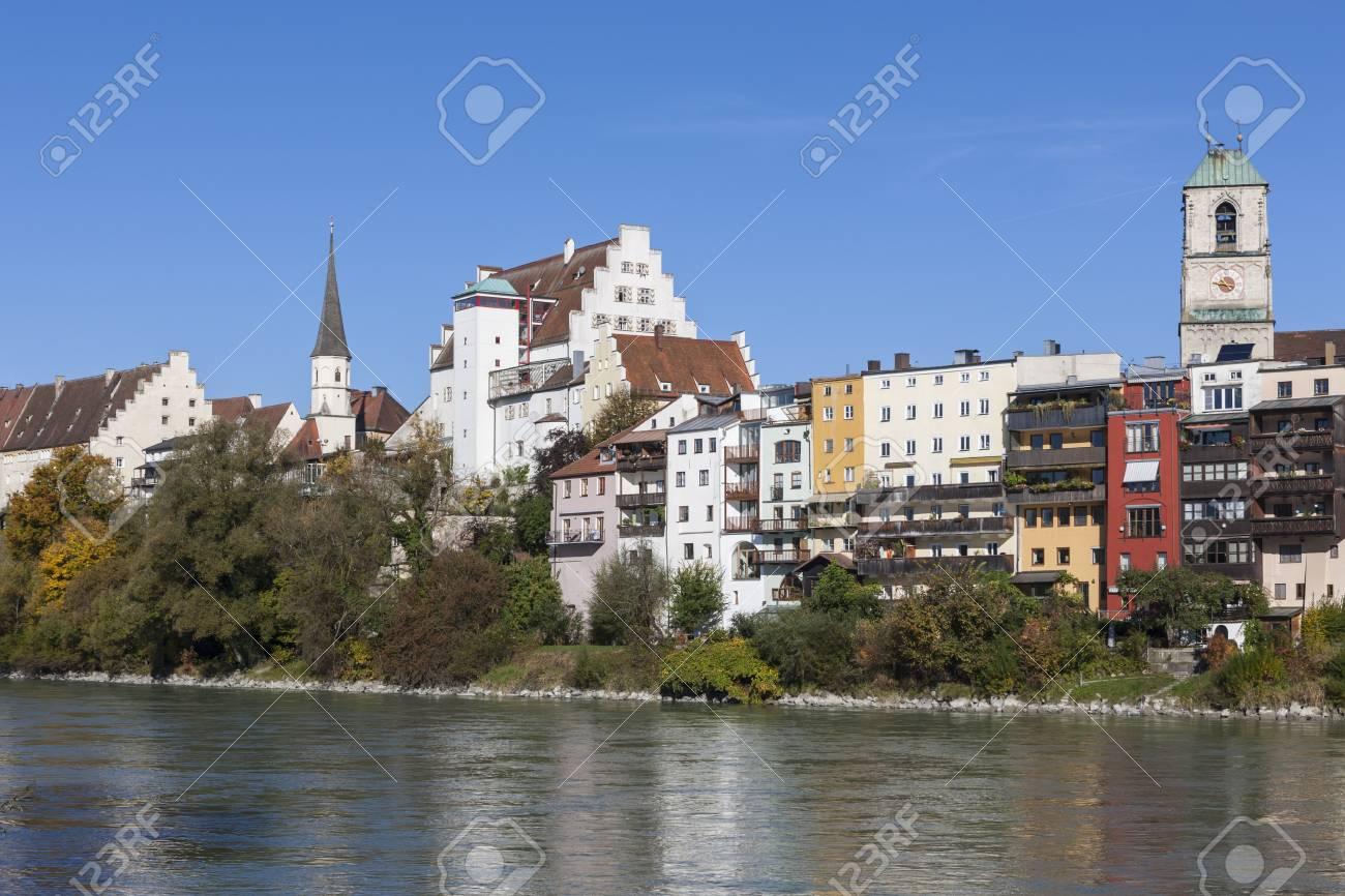 Wasserburg Am Inn Germania germania, baviera, alta baviera, wasserburg am inn, città vecchia al fiume  inn