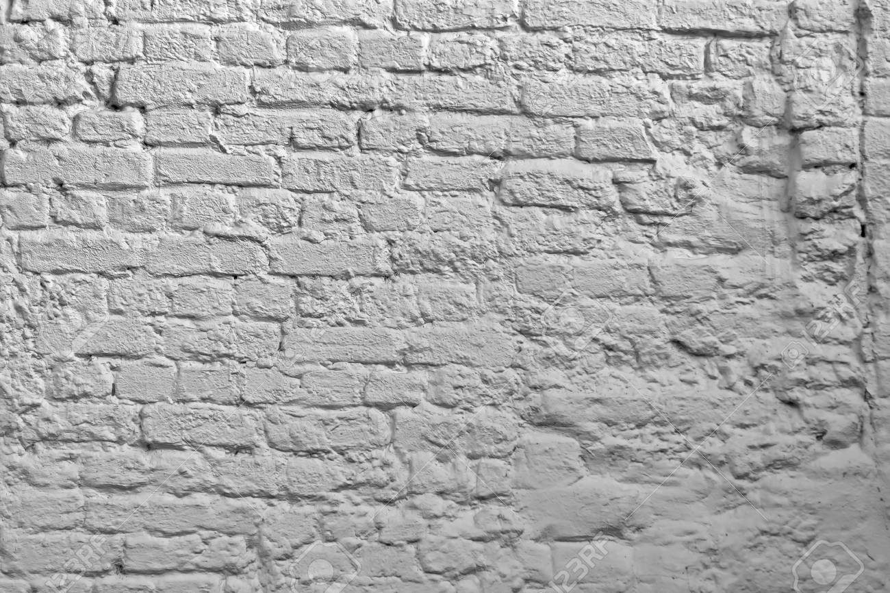 White Brick Wall Background Whitewash Brick Texture White Brickwork