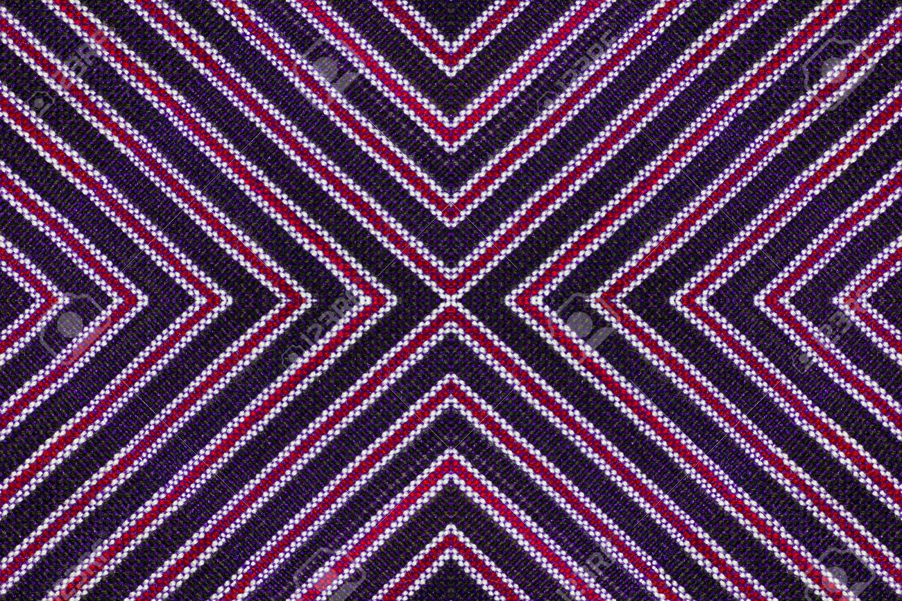 pattern and line of the fabric and background Stock Photo - 13123414