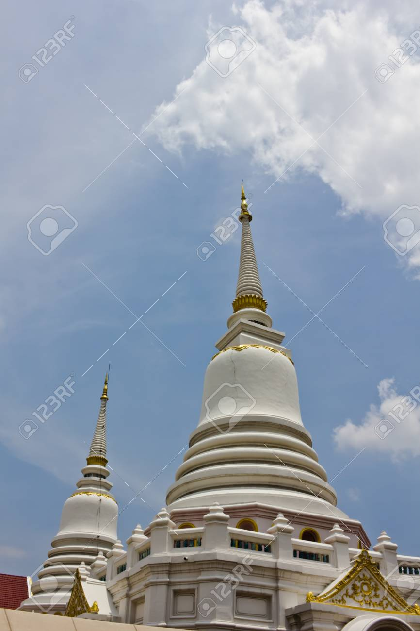 Buddhism and temple in Thailand Stock Photo - 14180606