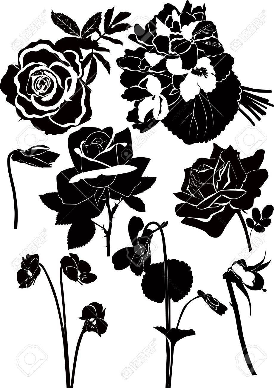 Flowers Stock Vector - 16787815