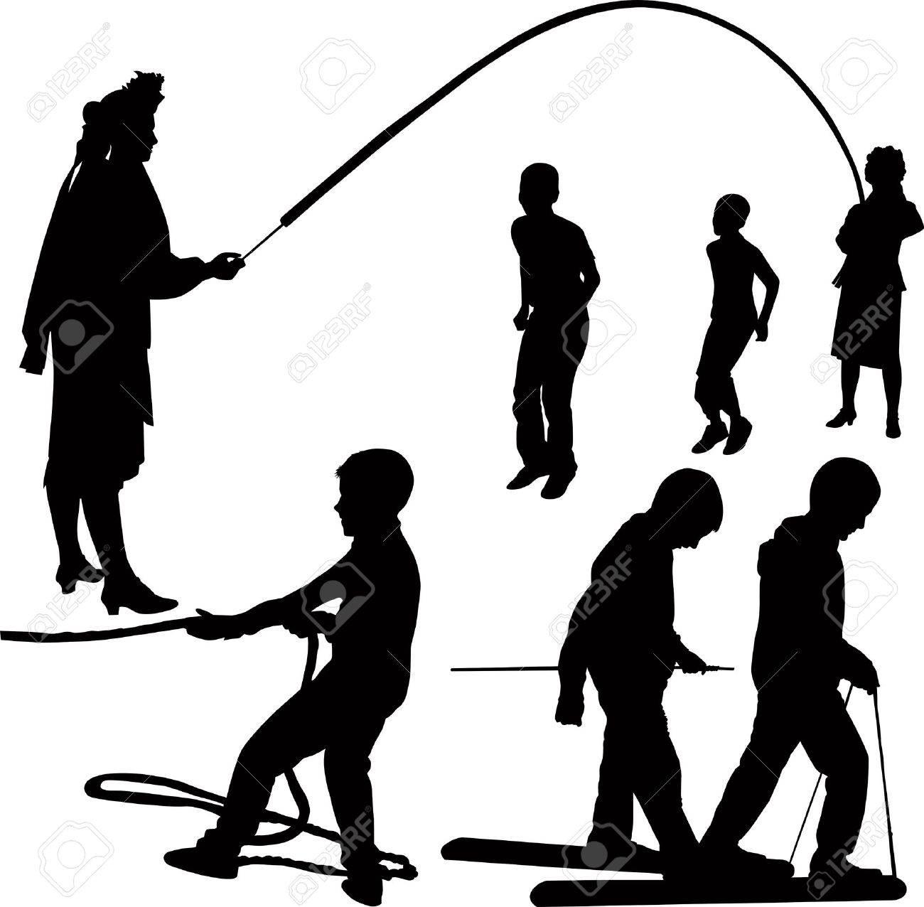 game of outdoor recreation Stock Vector - 17620499