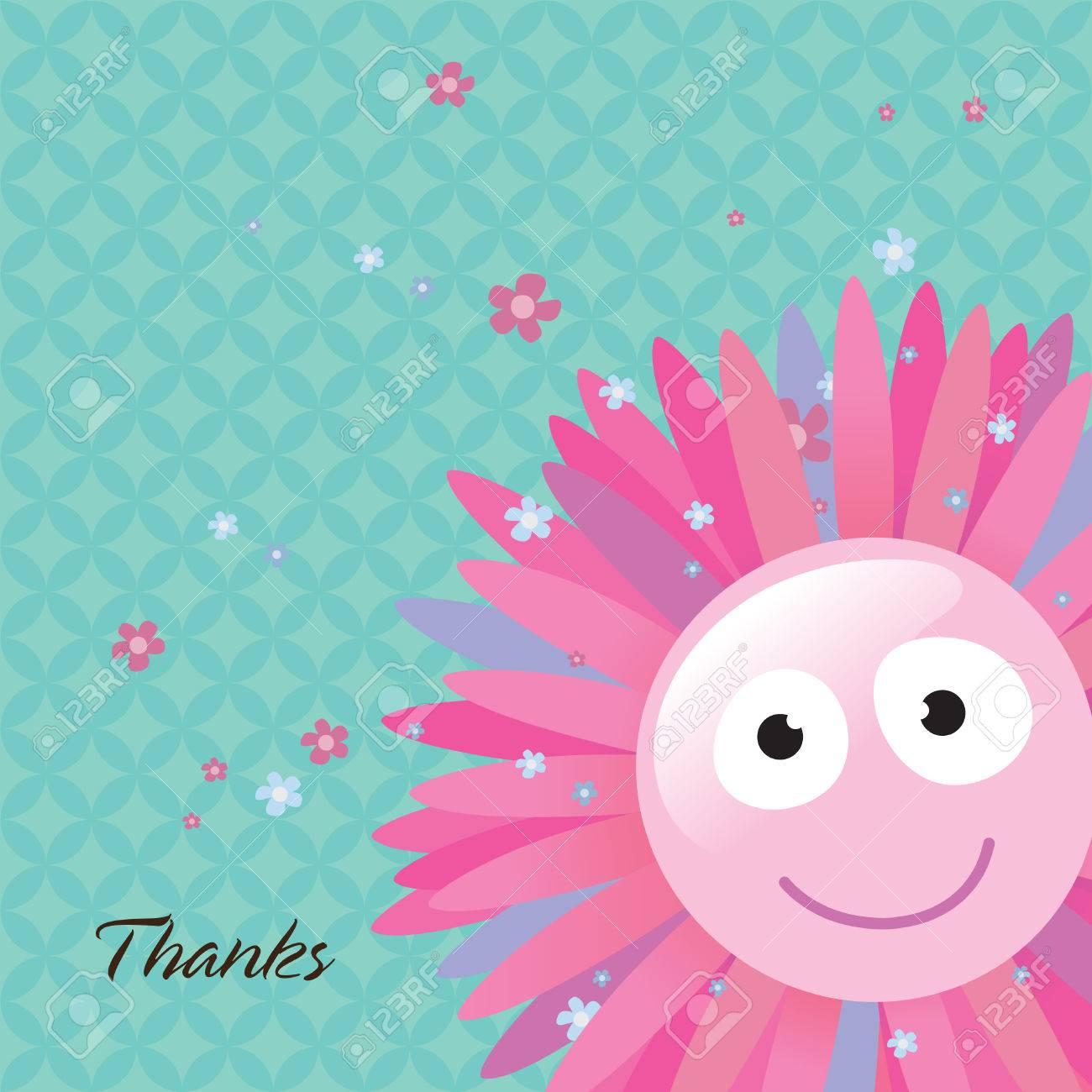 Thank You Card Stock Vector - 4578099