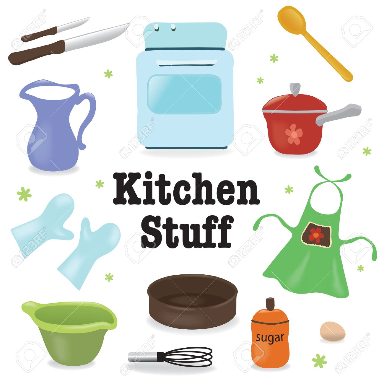 Kitchen stuff Stock Vector - 8790987
