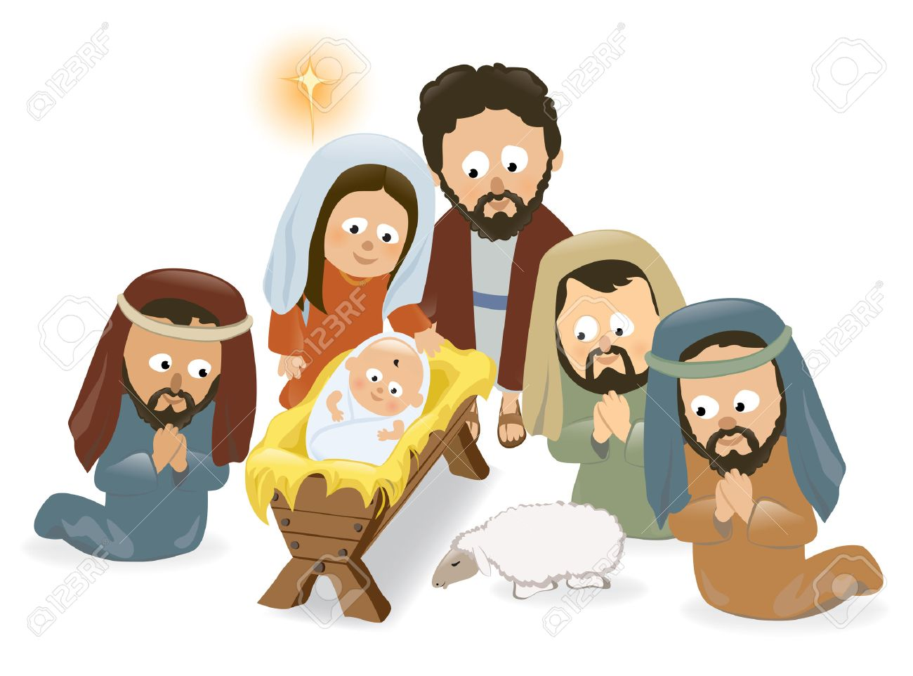 2,567 Baby Jesus Stock Vector Illustration And Royalty Free Baby ...