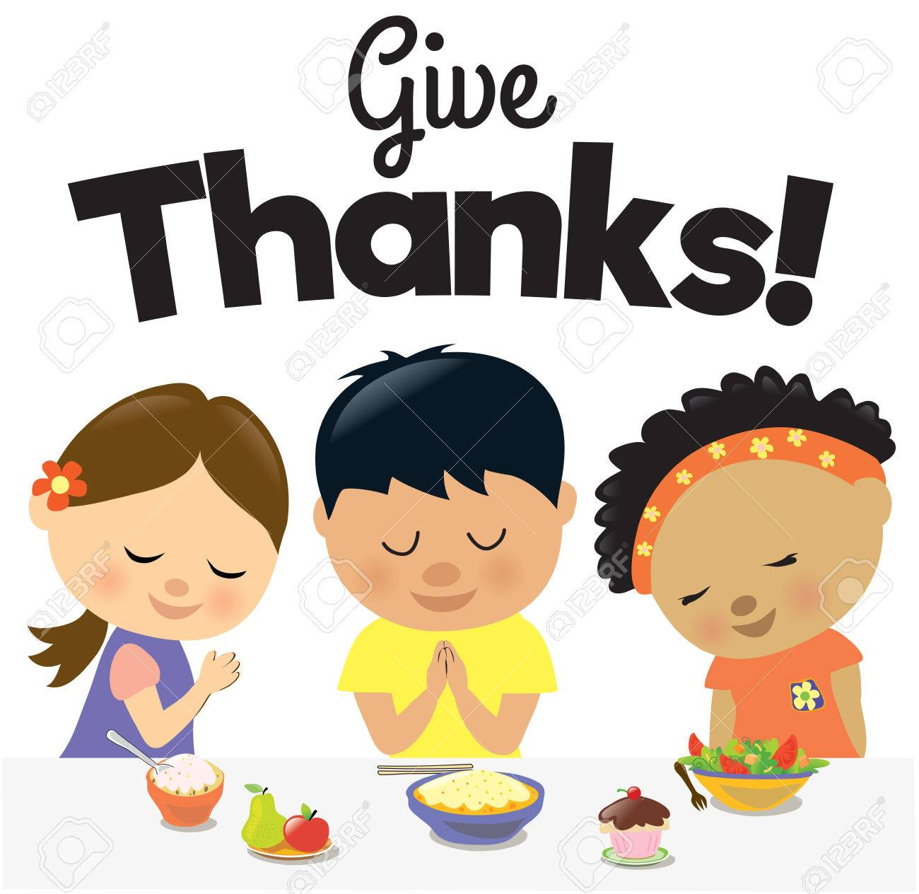Kids Give Thanks - 58381322
