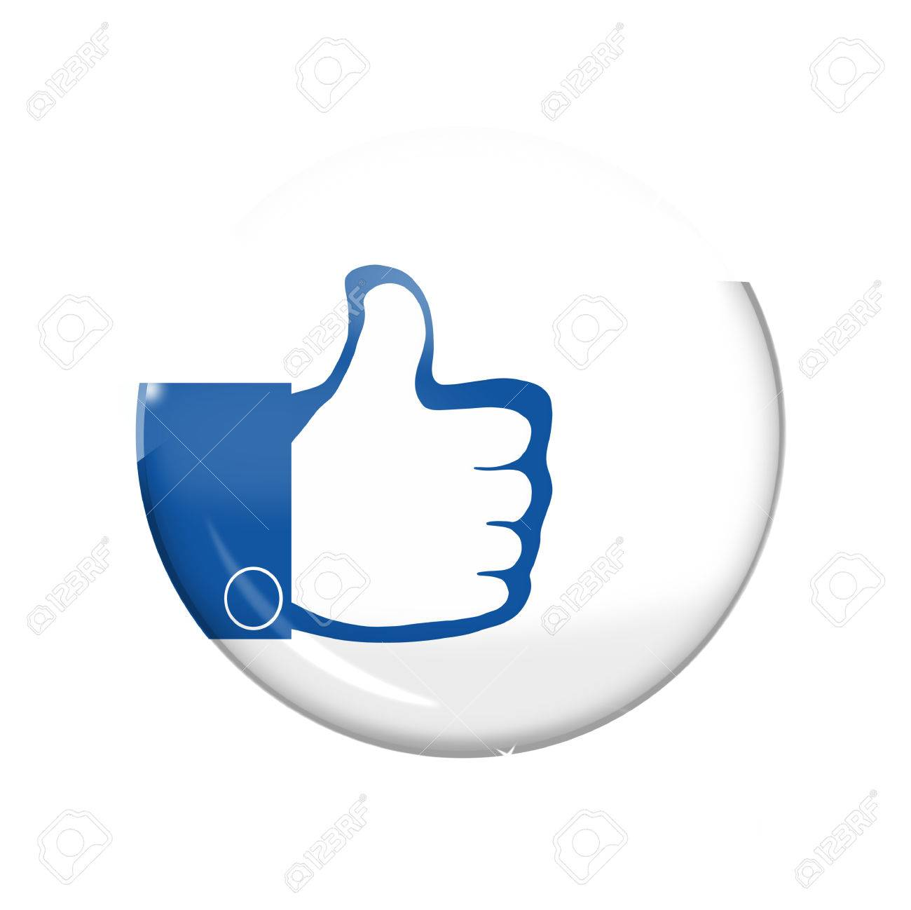 thumbs up icon button - 26668872