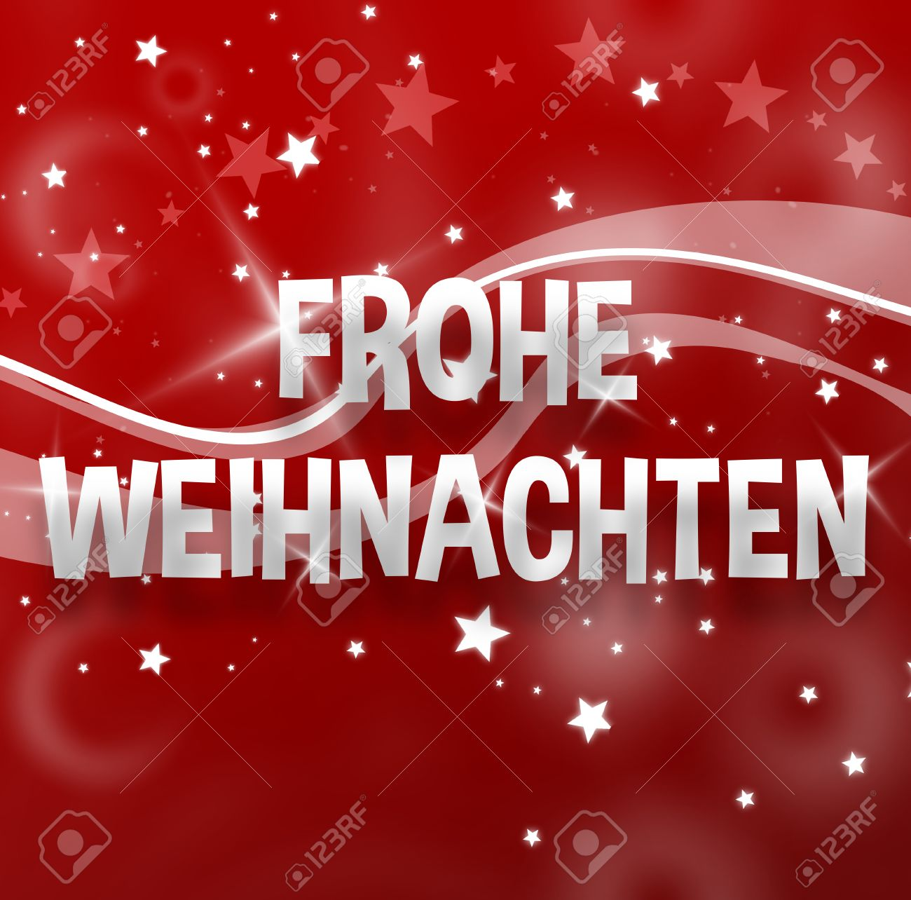 Merry Christmas German Language Stock Photo, Picture And Royalty ...