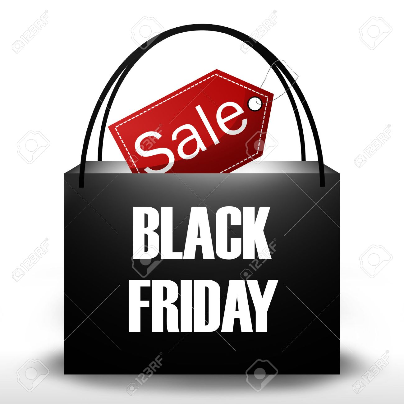Black Friday Shopping Bag - 27778465