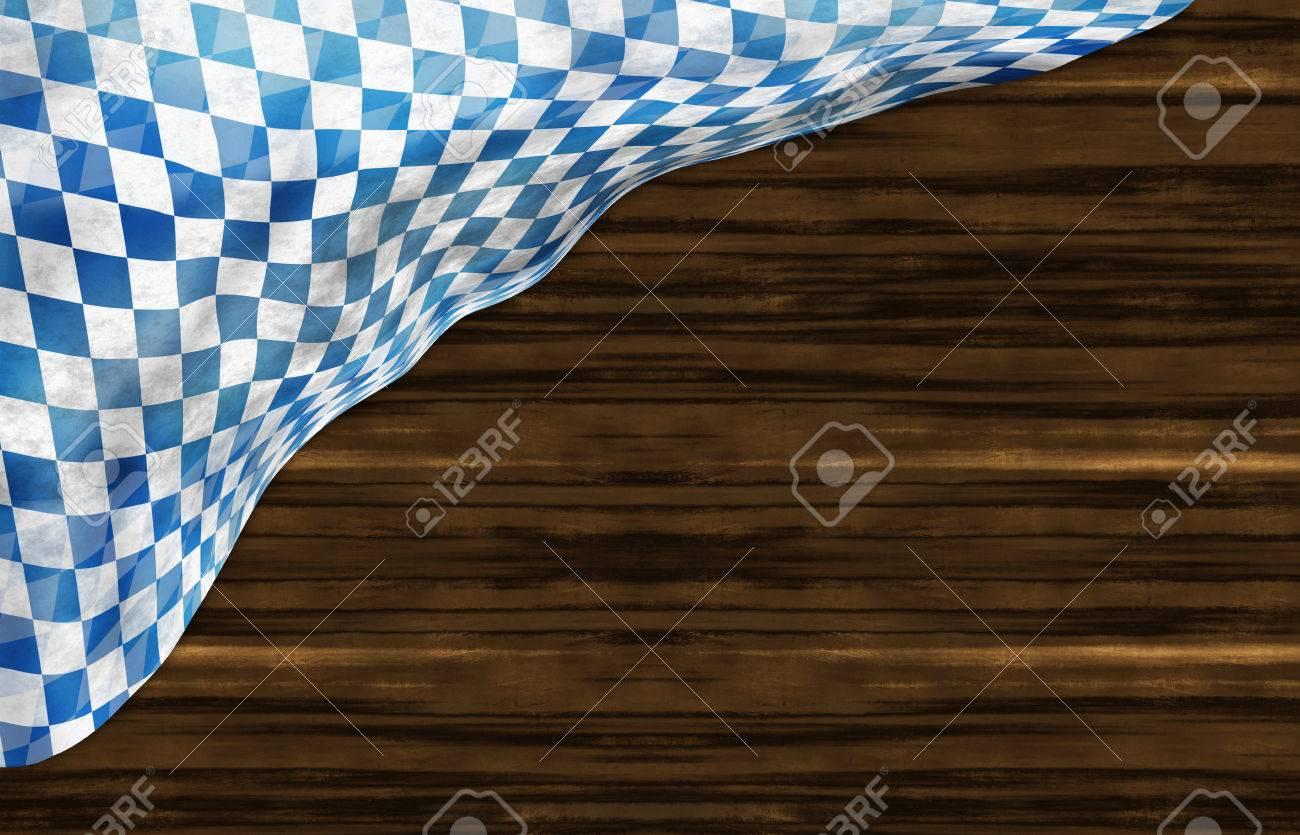Oktoberfest Bavaria Wood Flag Design - 30974539