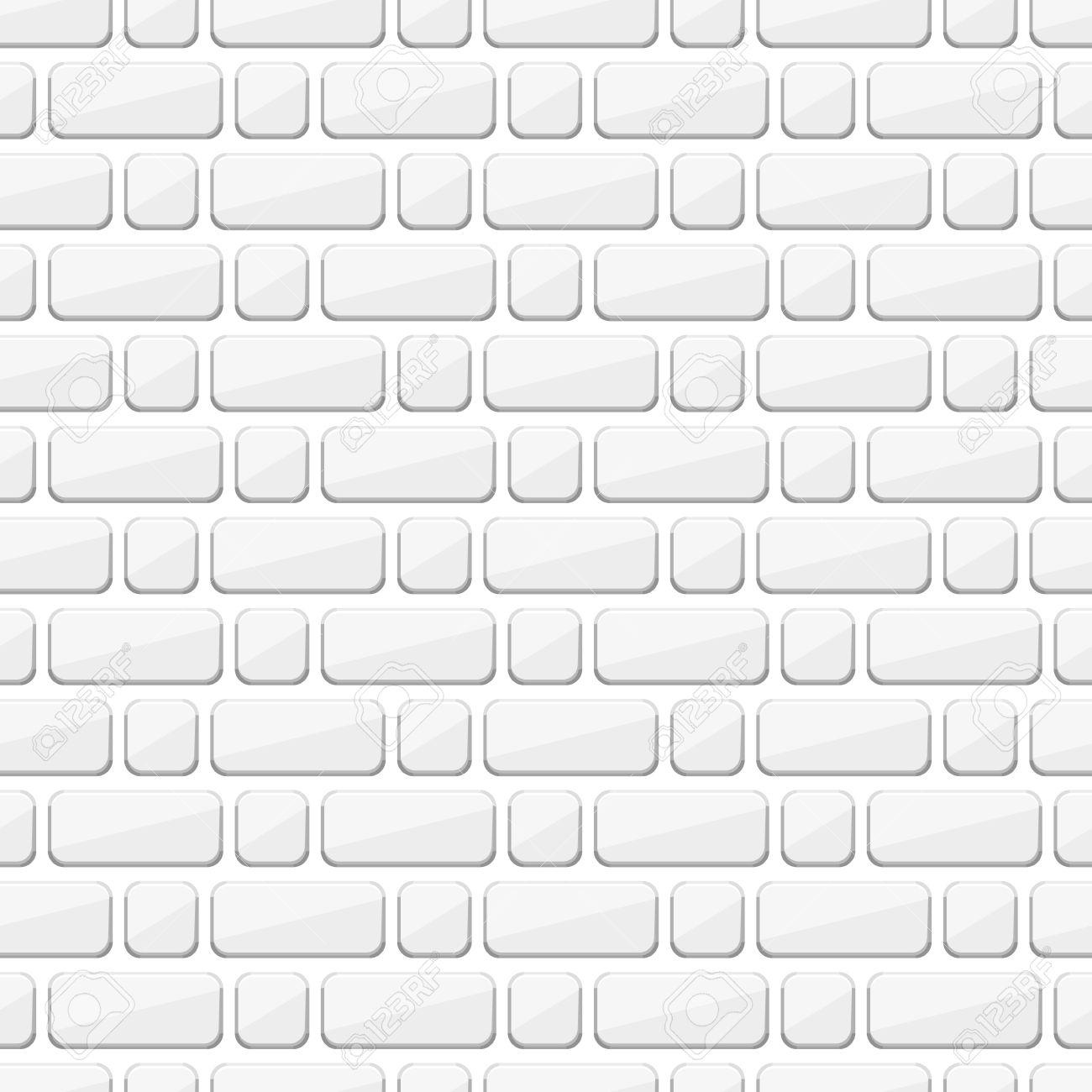 Brique Blanche blanc mur de briques. brique blanche. vector brique. vector mur de