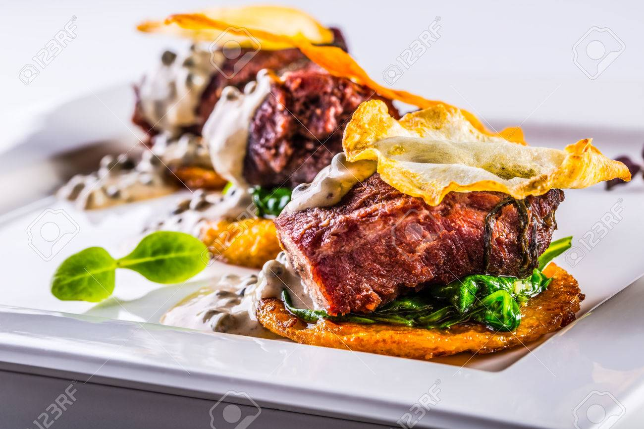 Kulinarische Küche. Französische Küche. Rezept: Confit ...