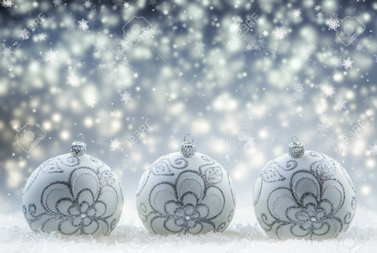 Christmas Balls. Luxury Christmas Ball With Ornaments In Christmas