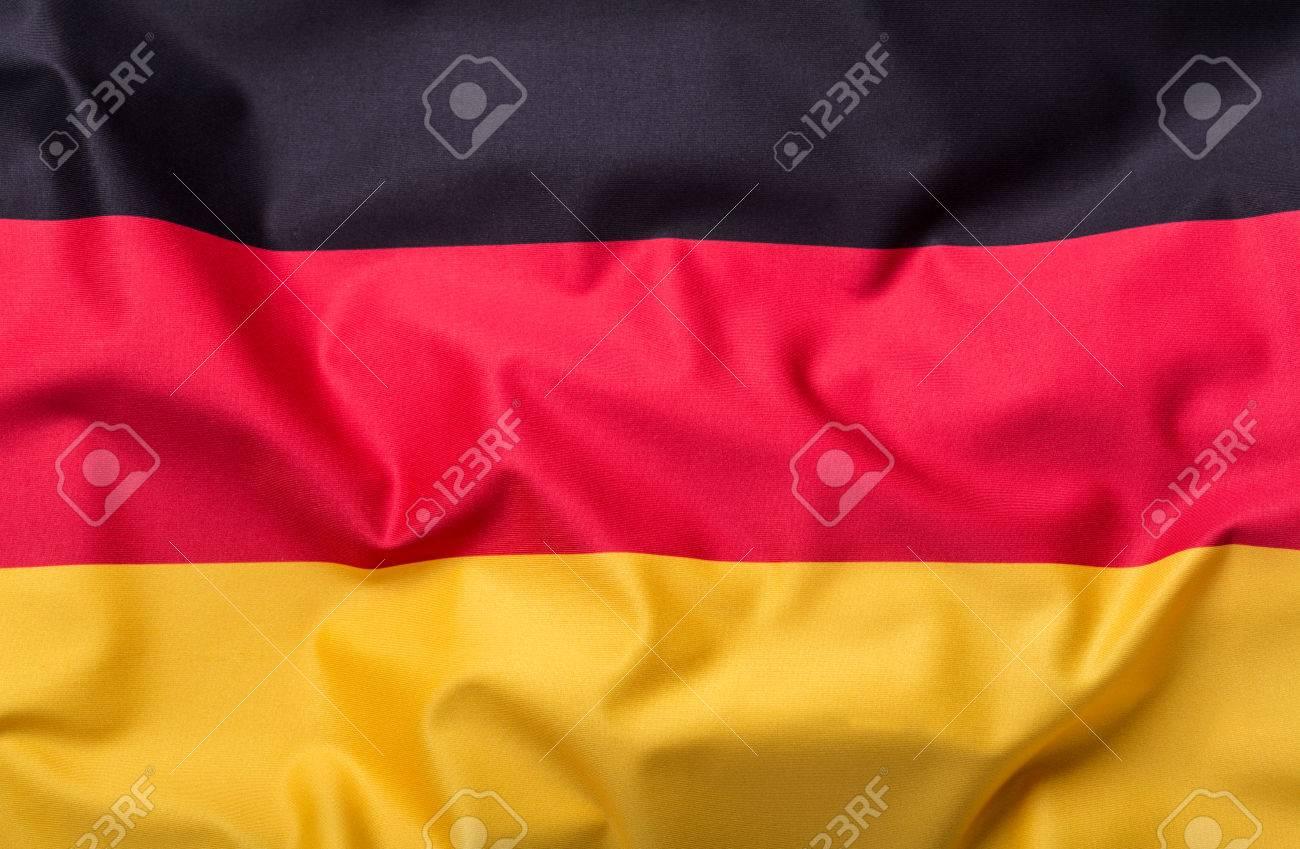 Flaggen Der Deutschland Und Der Europäischen Union Deutschland