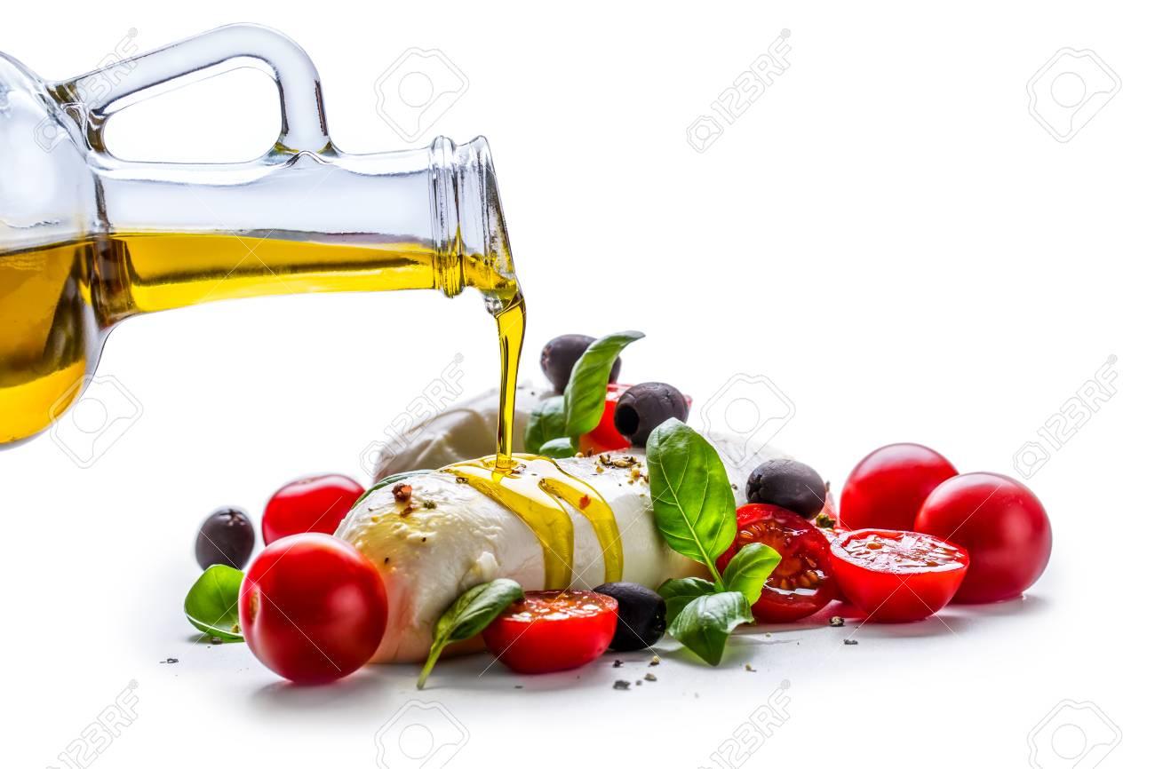 Inspirierend Küche Mediterran Ideen Von Caprese. Capresesalat. Italienischer Salat. Mittelmeer-salat. Italienische Küche.