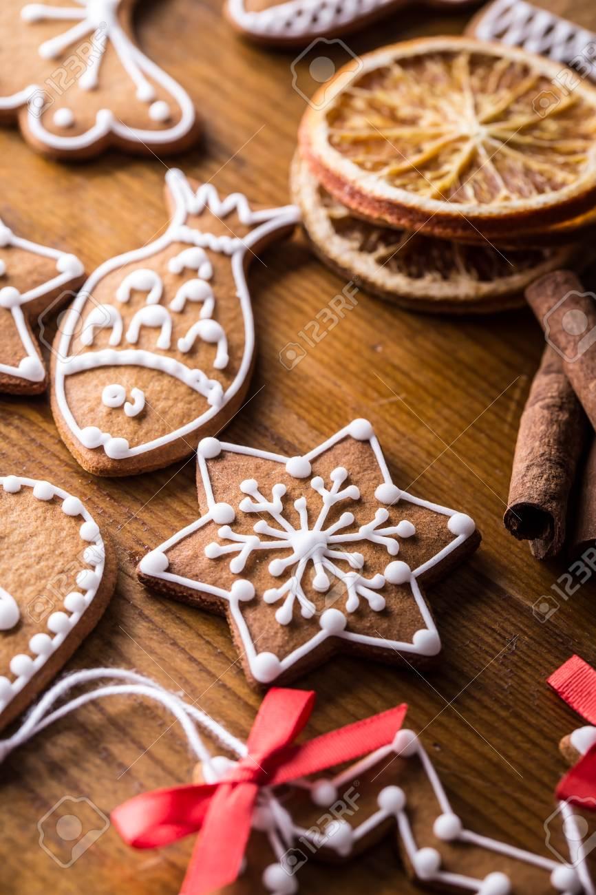 Weihnachten Susse Kuchen Weihnachten Hausgemachte Lebkuchen Auf