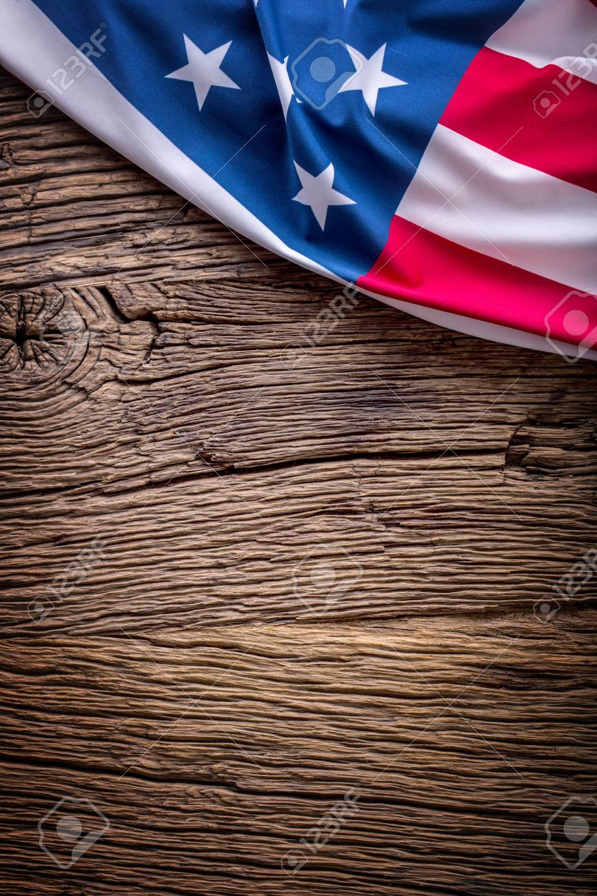 Usa Flag American Flag American Flag On Old Wooden Background Vertical Stock Photo Picture And Royalty Free Image Image 79190183