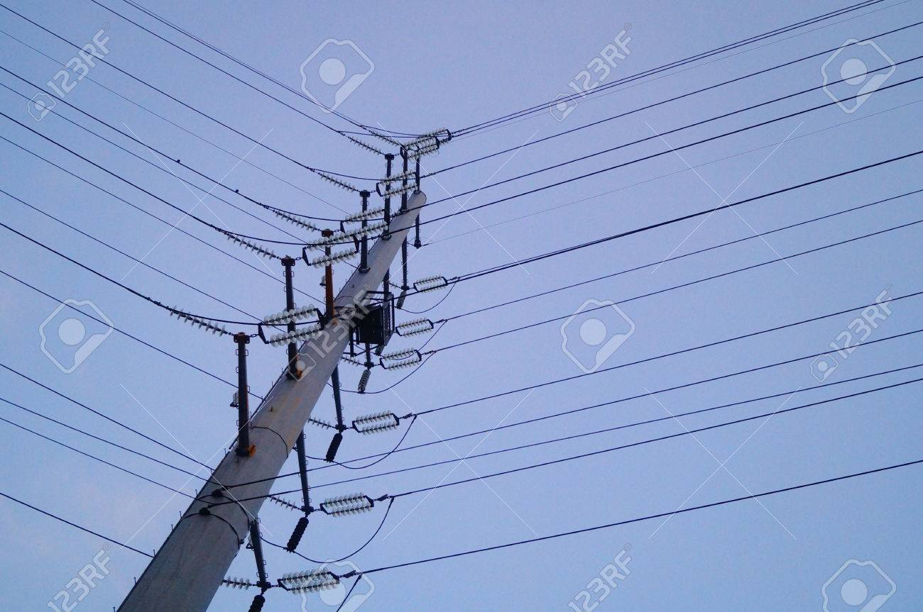 High Voltage Wire Rack, In Shenzhen, China Stock Photo, Picture And ...