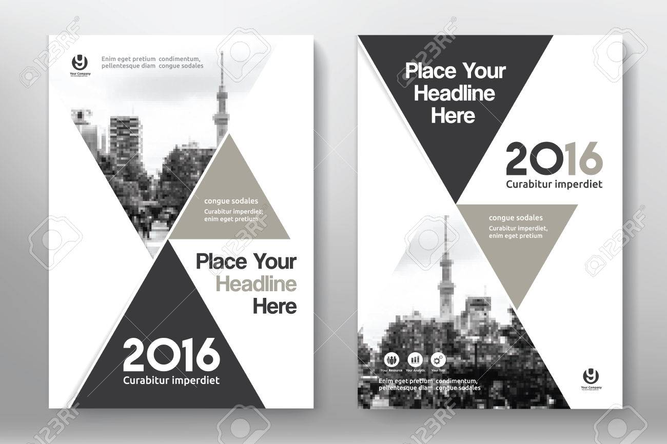 Grey Color Scheme With City Background Business Book Cover Design ...