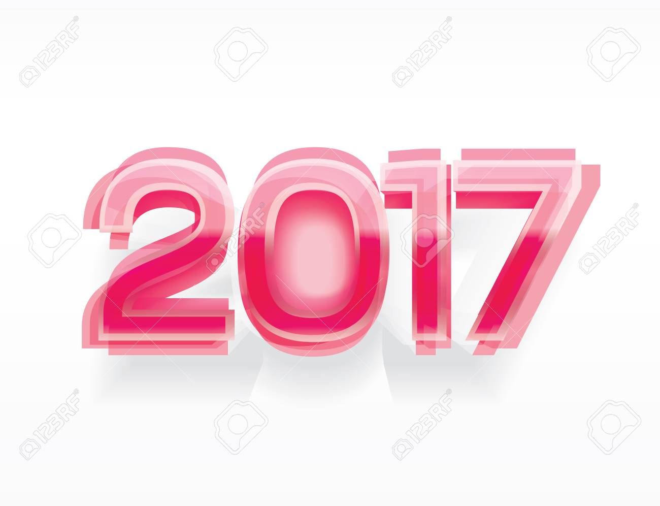 happy new year 2017 vector background for greeting card calendar cover website landing page