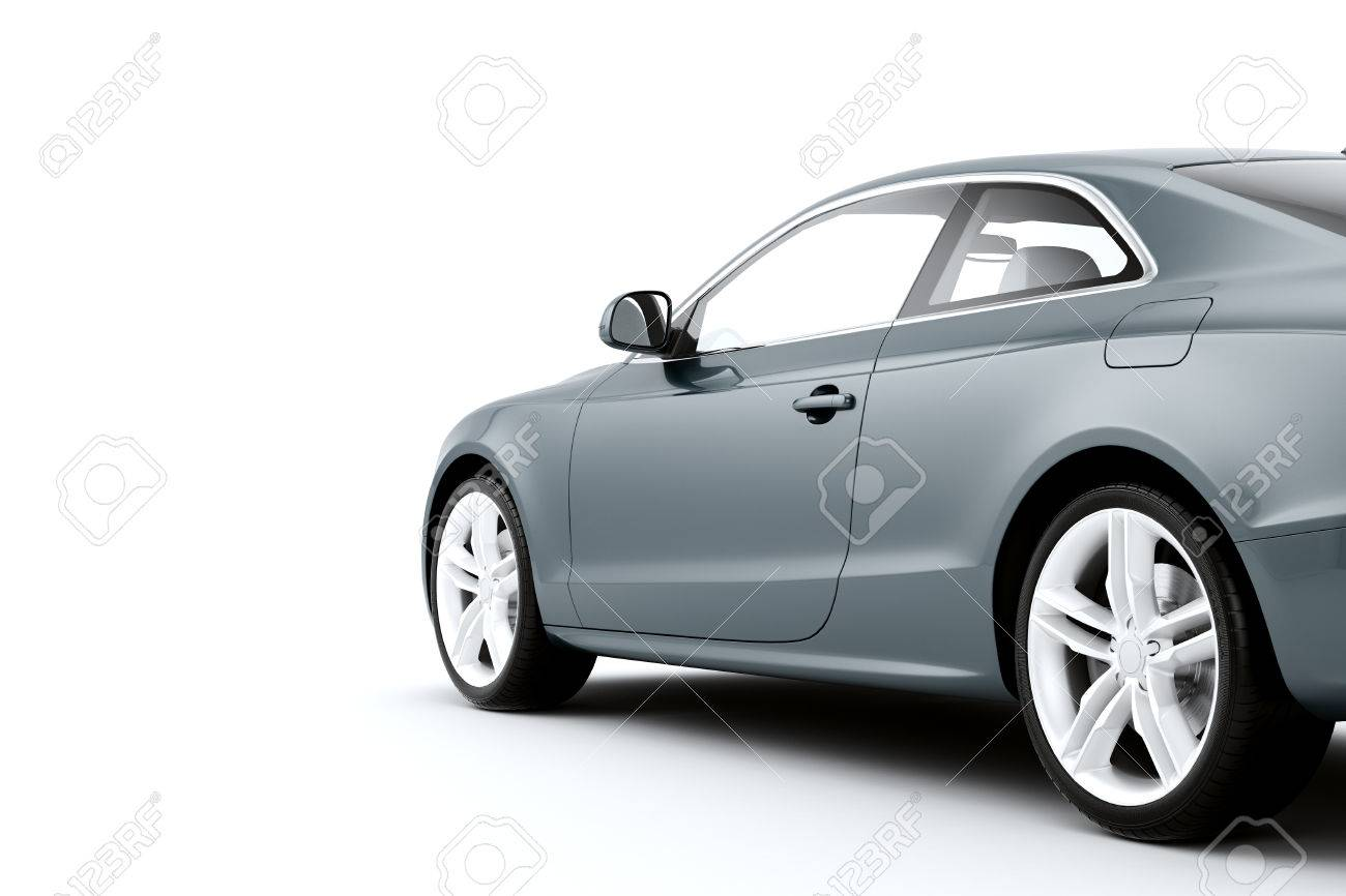 Isolated sport car on a white background - 28774335