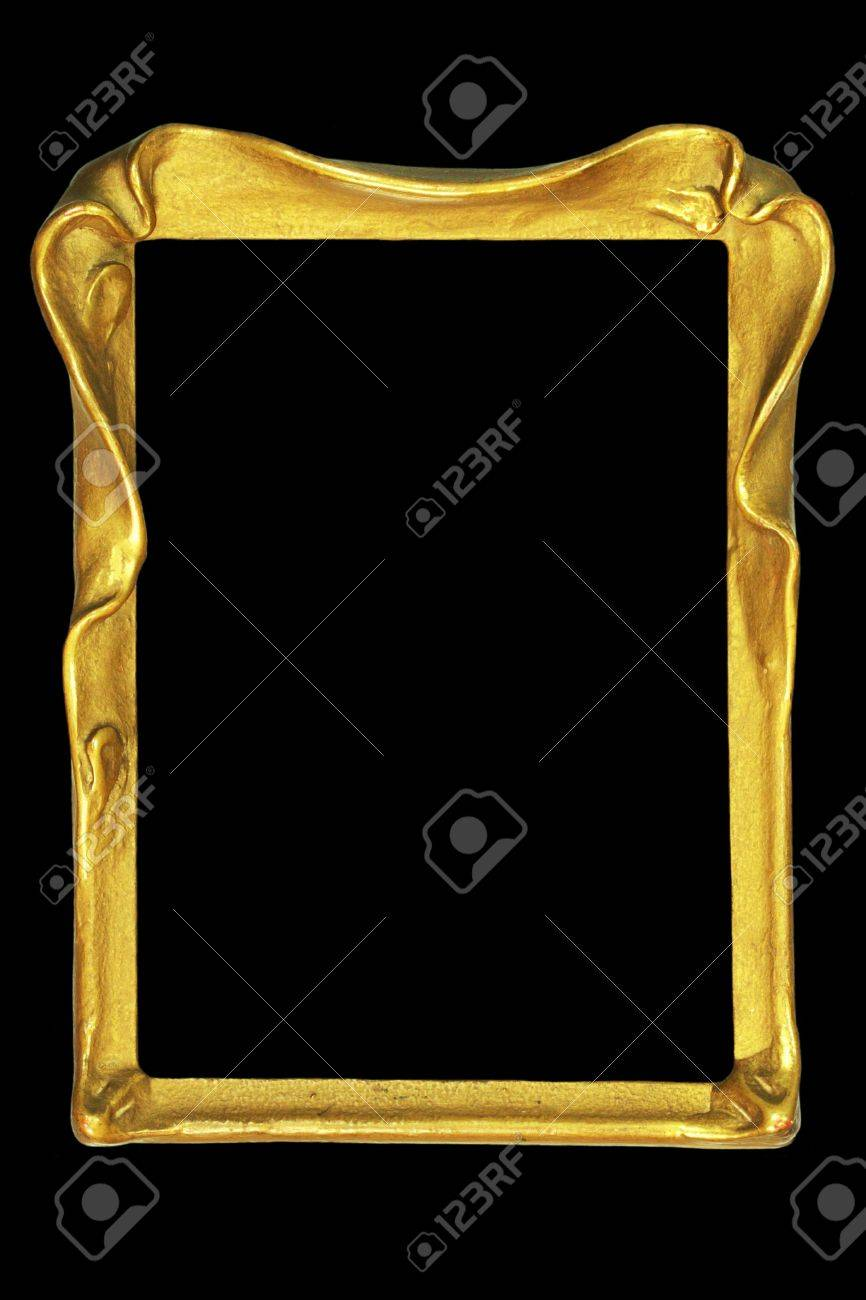 Vintage Art Nouveau Picture Or Mirror Frame Stock Photo, Picture And ...