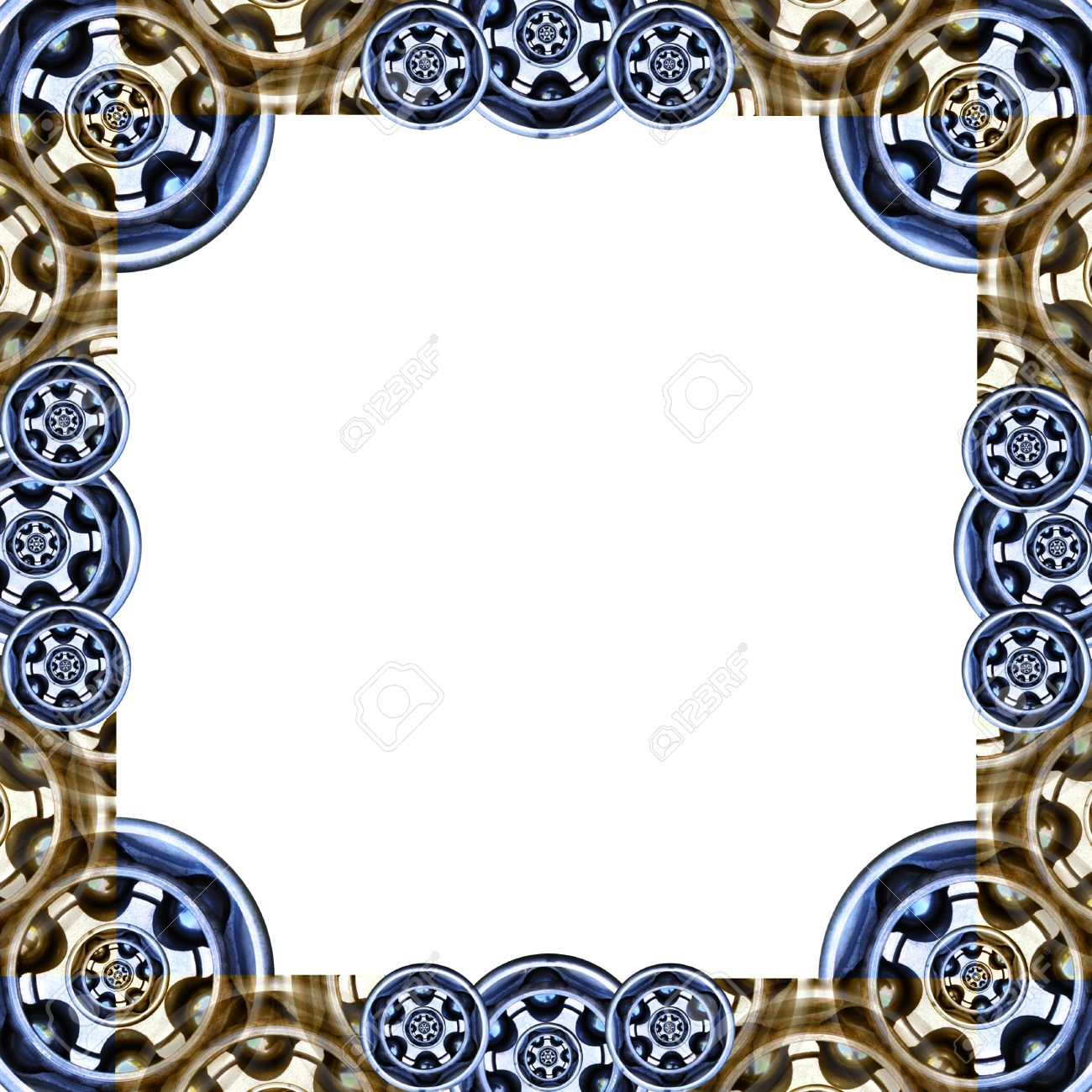 border brame based on auto cv joint industrial patterns stock stock photo border brame based on auto cv joint industrial patterns