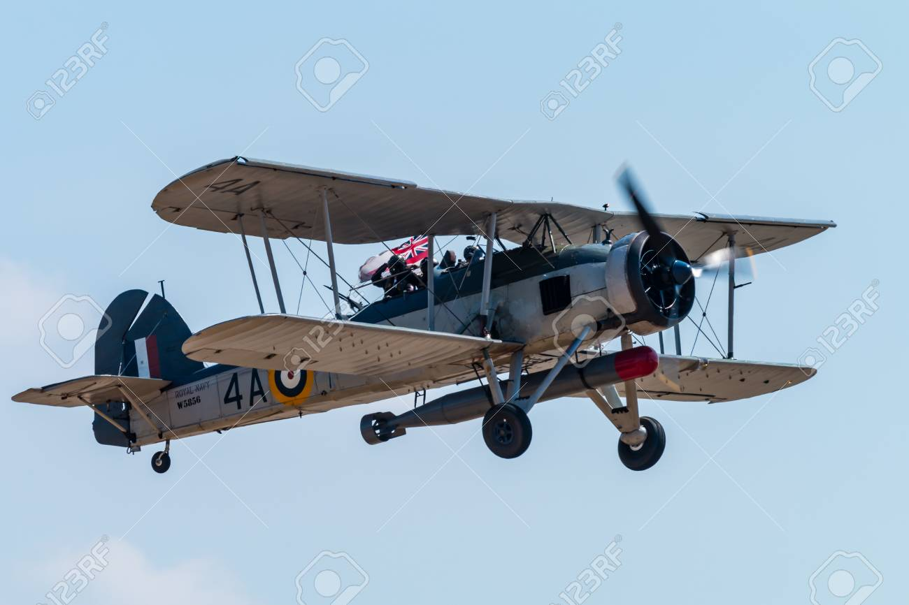 Rnas Yeovilton England July 07 2018 A Royal Navy Fairey Stock Photo Picture And Royalty Free Image Image 111725465