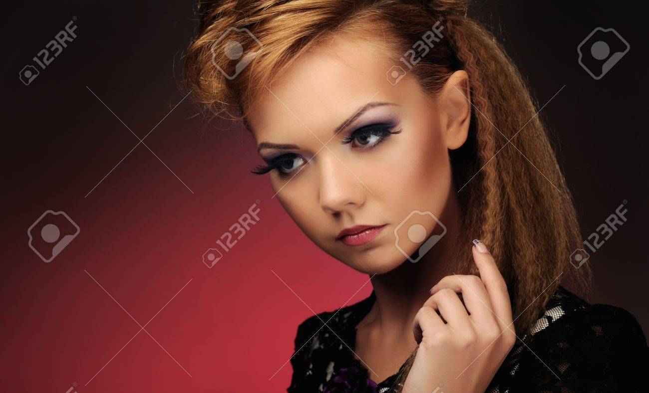 beautiful girl Stock Photo - 15413618