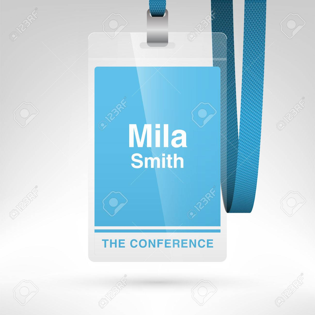 conference badge template
