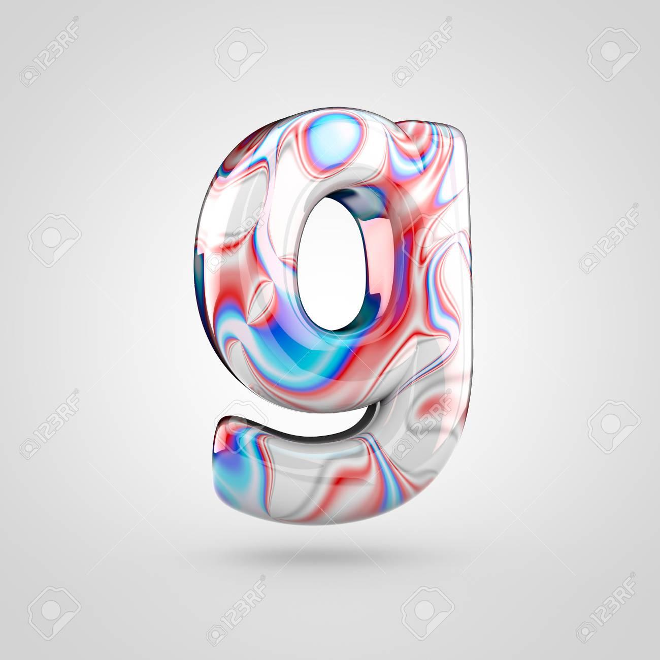 Glossy water marble alphabet letter g lowercase 3d rendering glossy water marble alphabet letter g lowercase 3d rendering font with acrylic red blue altavistaventures Gallery