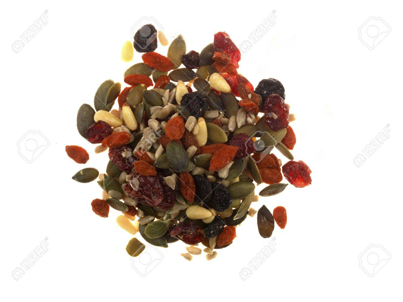 Dried Fruit with Seeds Stock Photo - 15696855