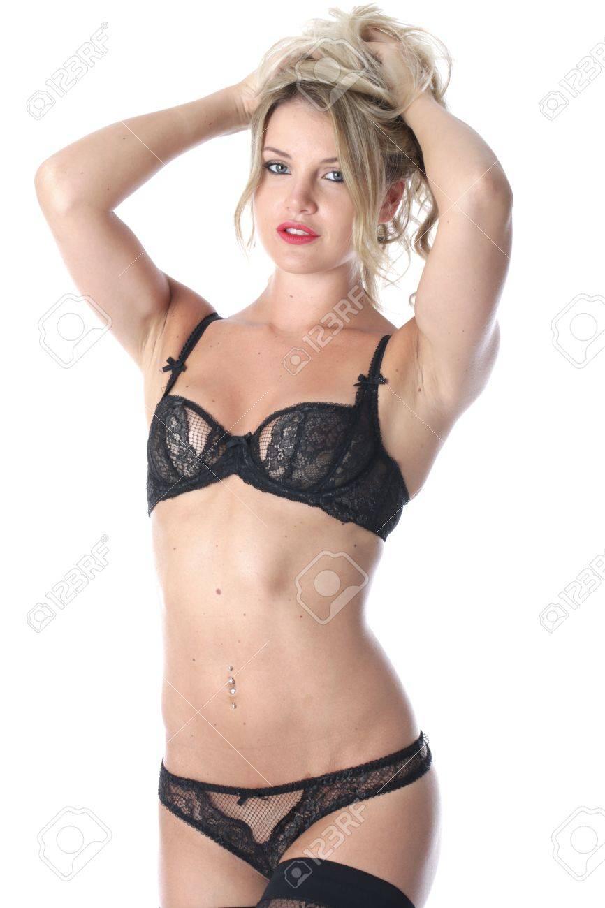 mejor venta ofertas exclusivas mejores marcas Publicado modelo. Mujer joven con la lencería sexy