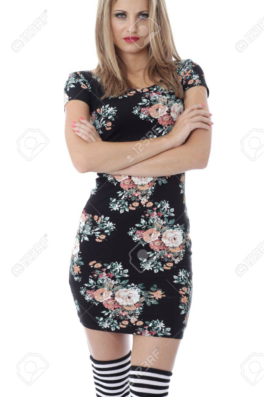 Model Released. Unhappy Sad Miserable Young Woman Stock Photo - 21340837