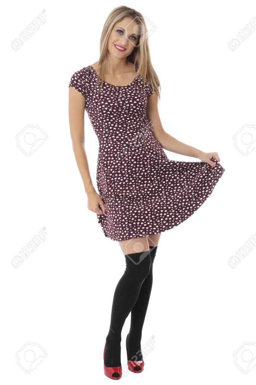 Mini modélisation Femme Robe Jeune courte q5xpw4wnd