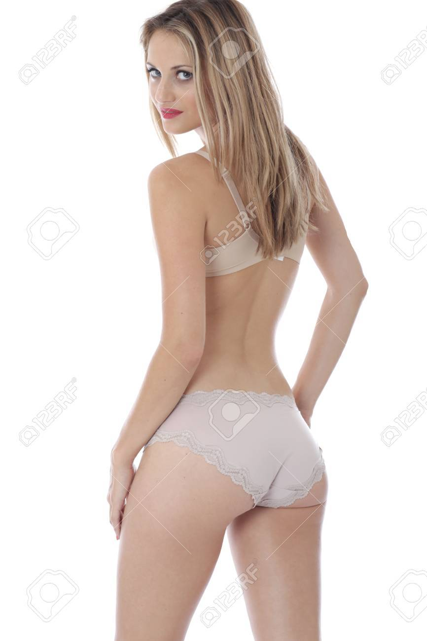 f9c0a9c9ed5 Model Released. Sexy Young Woman Wearing Lingerie Stock Photo ...