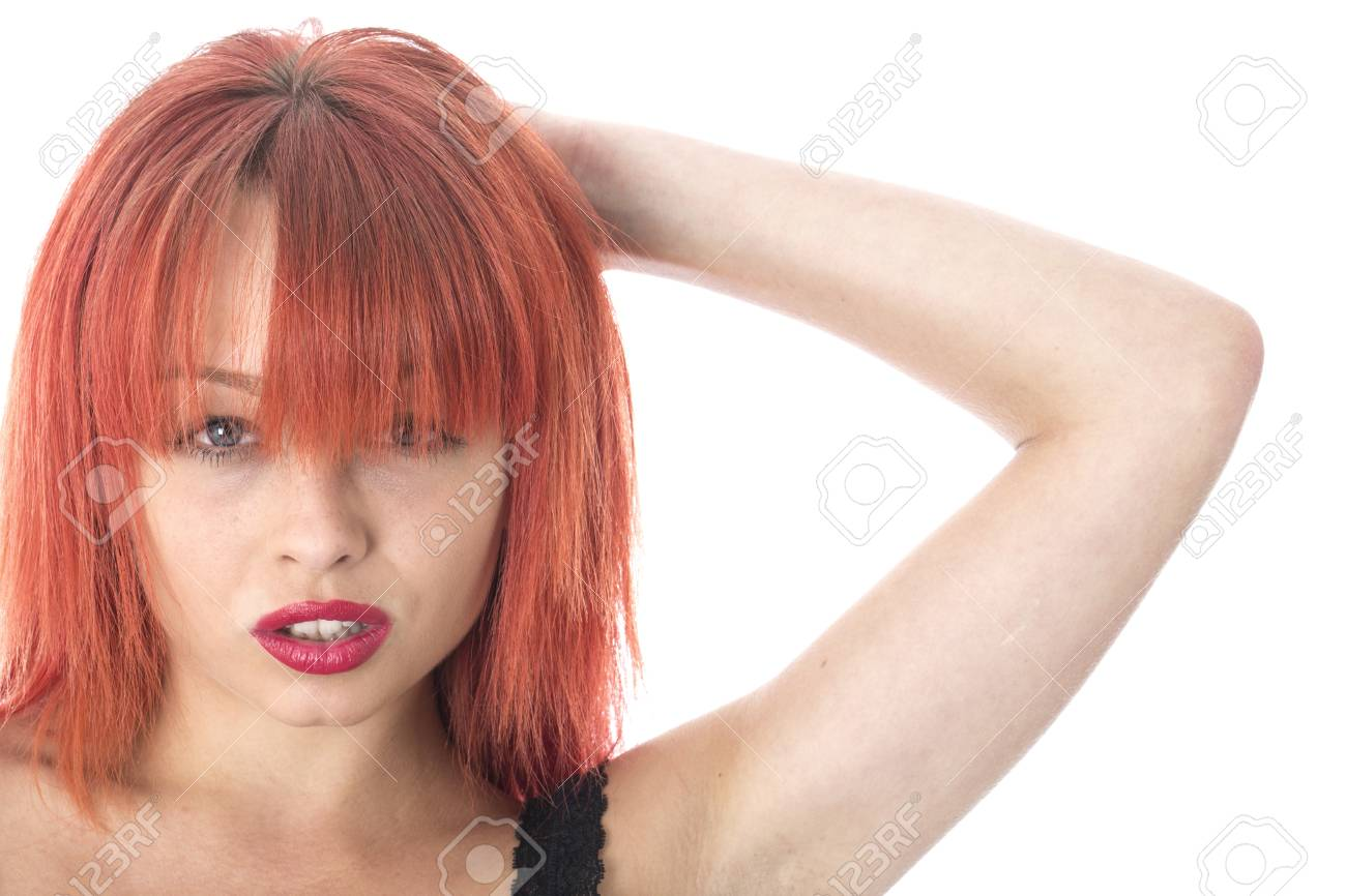 Model Released. Unhappy Thoughtful  Young Woman Stock Photo - 22272383