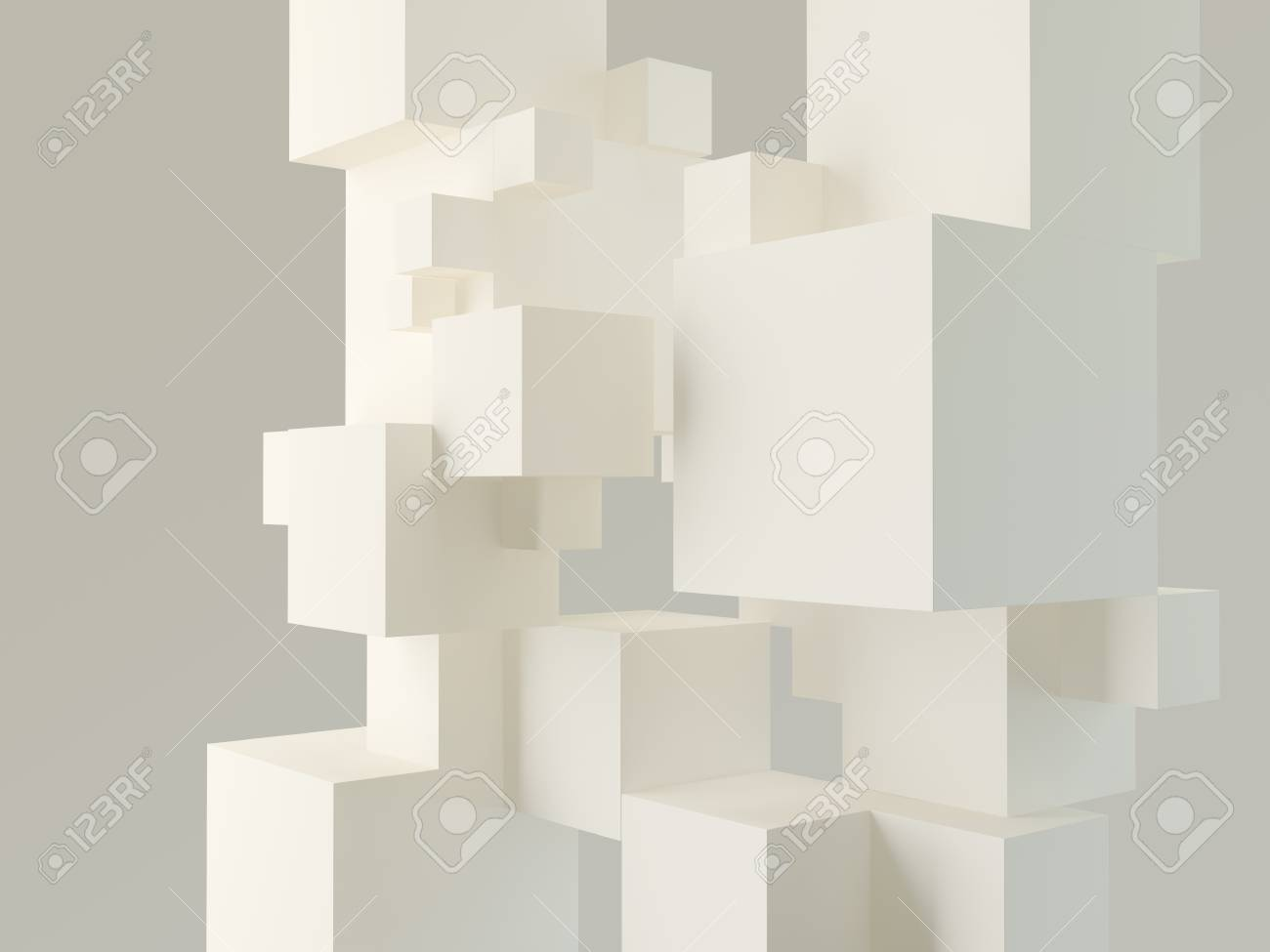 abstract architectural background Stock Photo - 18838489