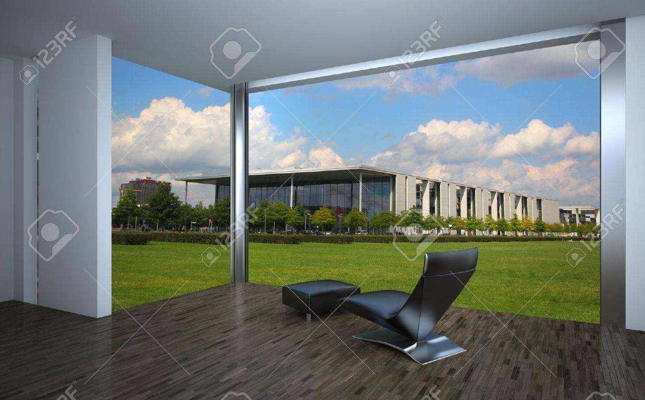 Modernes Interieur Laminat-Konzept Lizenzfreie Fotos, Bilder Und ...