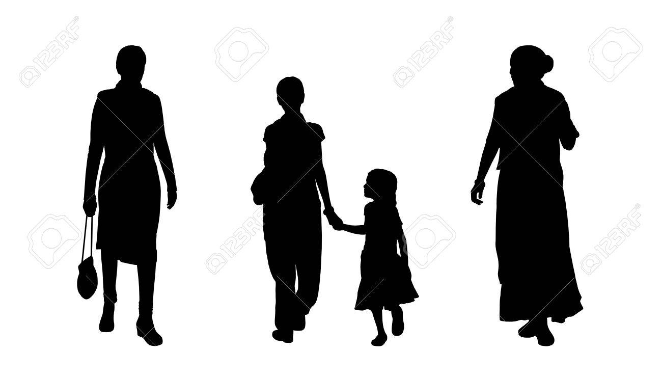 Image result for indian women stock photo silhoutte