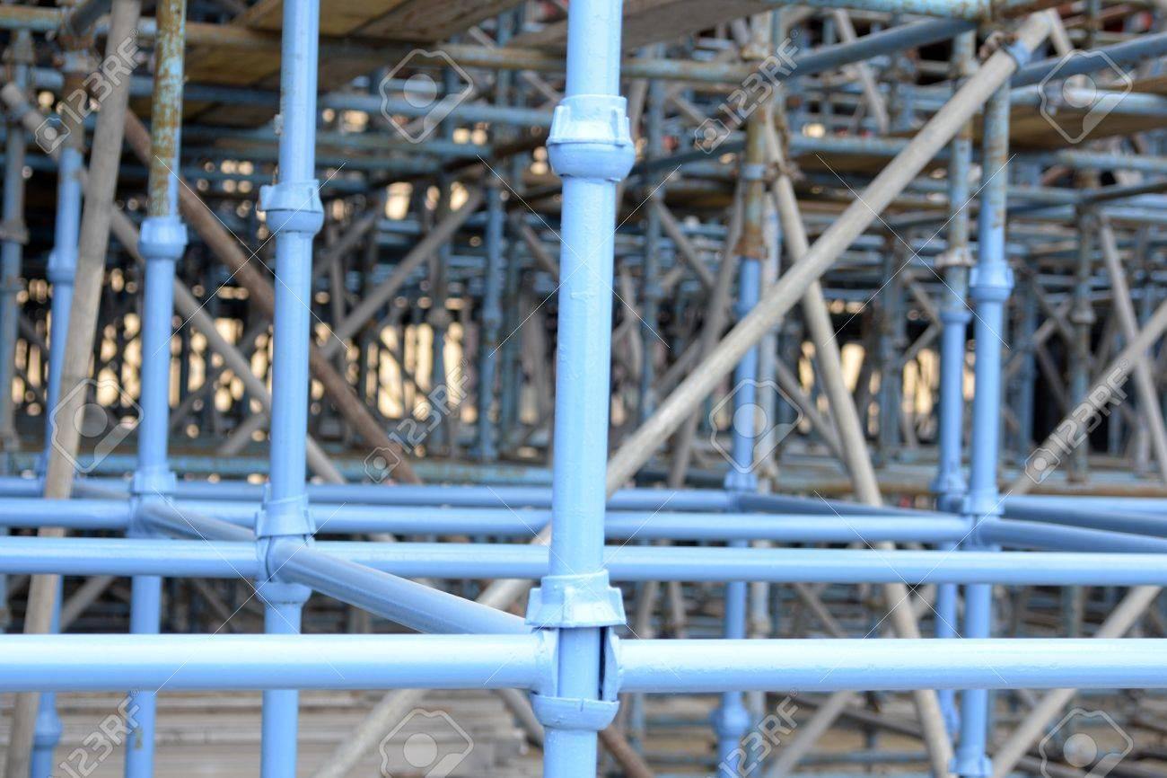 Bridge support structure piping in Dubai, United Arab Emirates