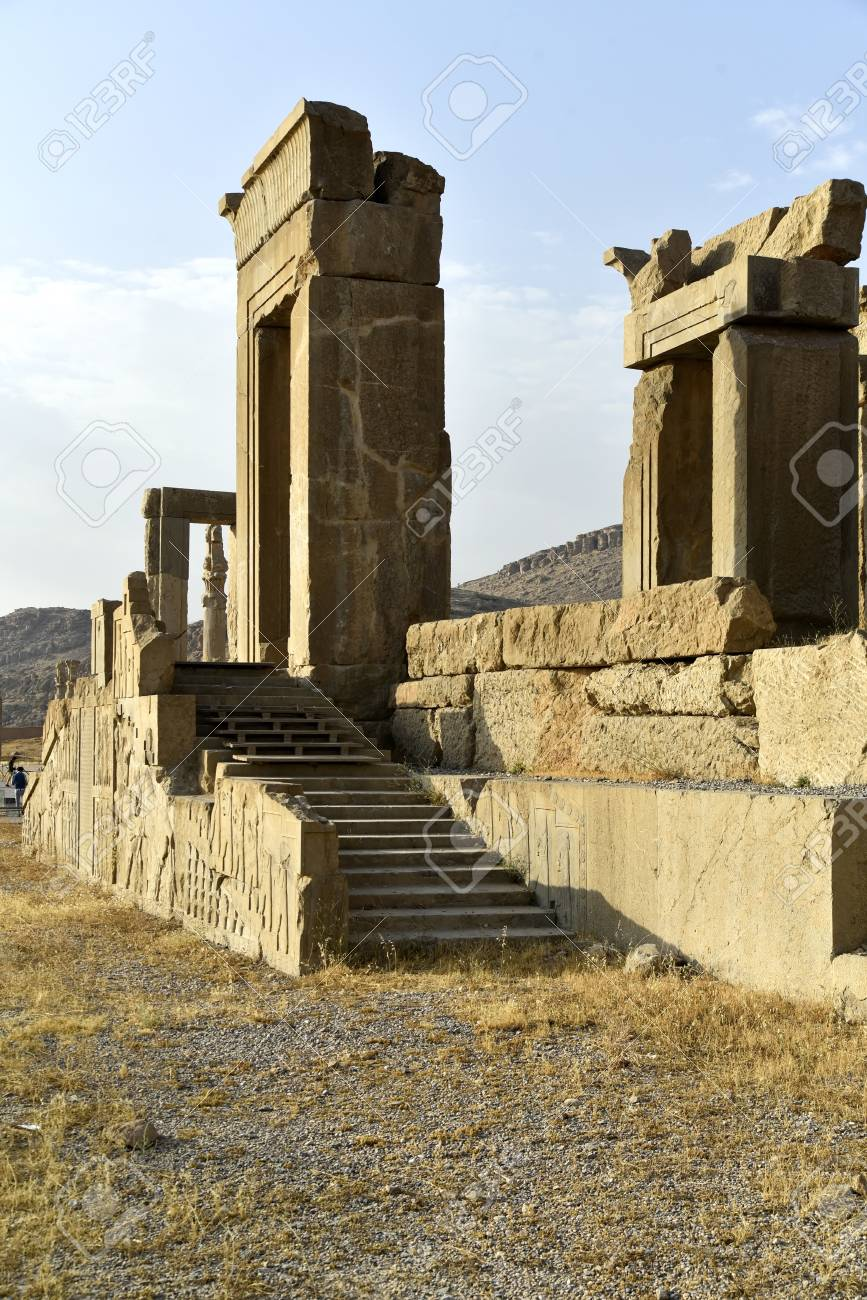 Persepolis Capital Of The Achaemenid Empire Shiraz Fars Iran Stock Photo Picture And Royalty Free Image Image 127625480