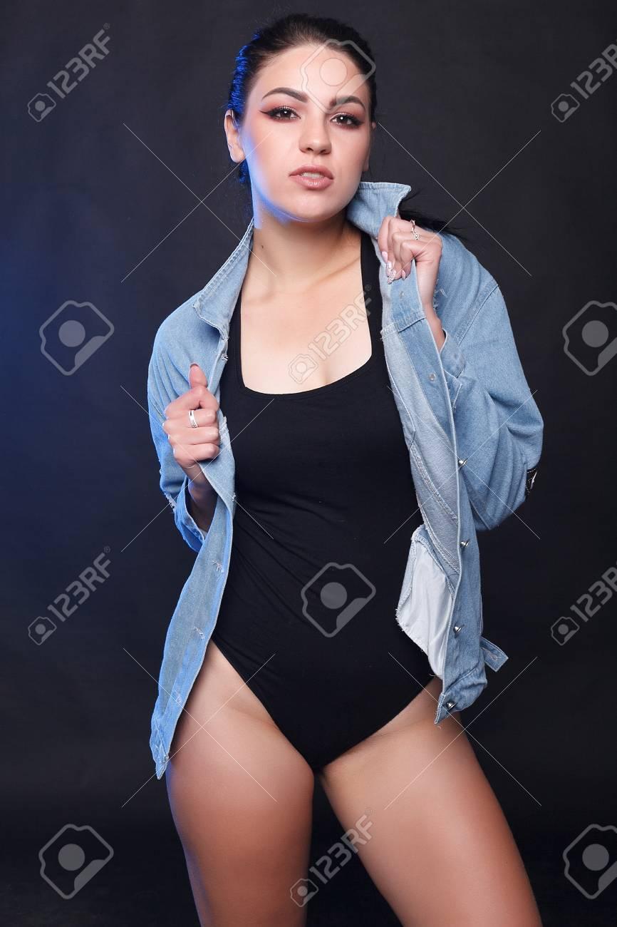 Black sexy plump