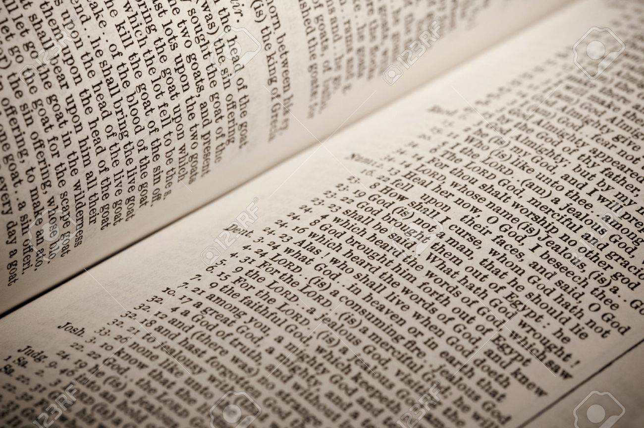 list of references to God in a bible concordance