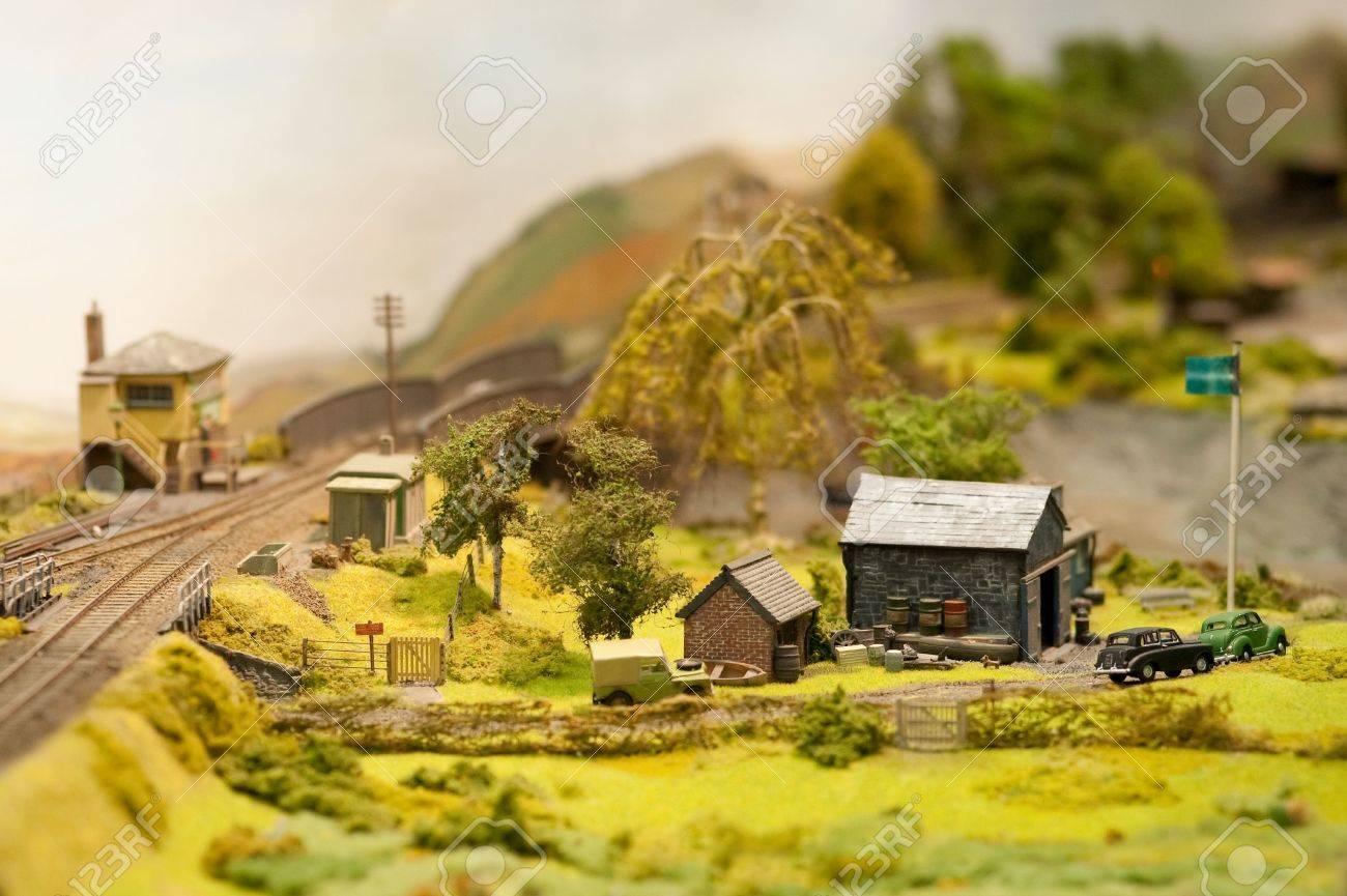 Ландшафт макет