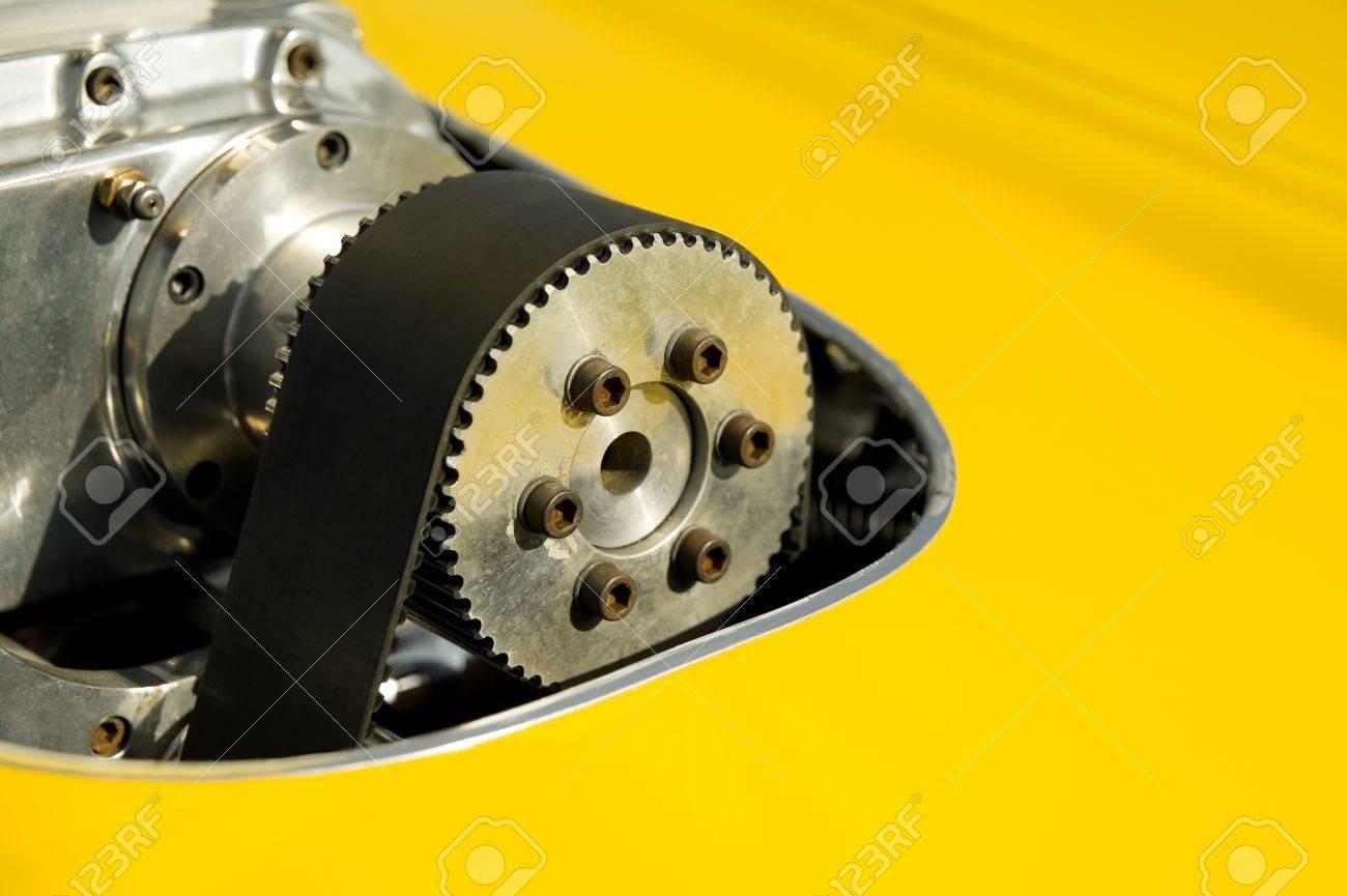 custom car cam-belt detail with shallow d.o.f Stock Photo - 9551929