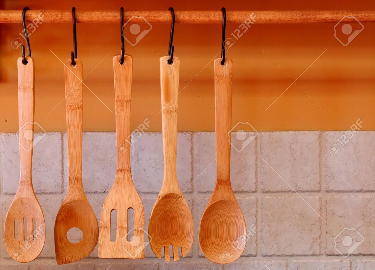 Wood Cooking Utensils - 595935